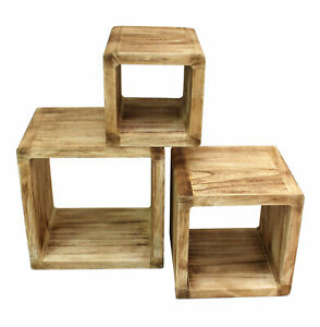 3er-Set-Regal-Cube-44x35cm-Etagere-en-Bois-Bois-Board-Used-Design-D-Nature