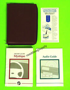 1997 mercury mystique owners manual owner s guide book set gs ls ebay rh ebay com 1997 Mercury Cars 1997 Mercury Zephyr