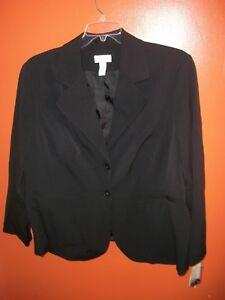 da Size Club Blazer Giacca Plus donna 18w qS4wn8