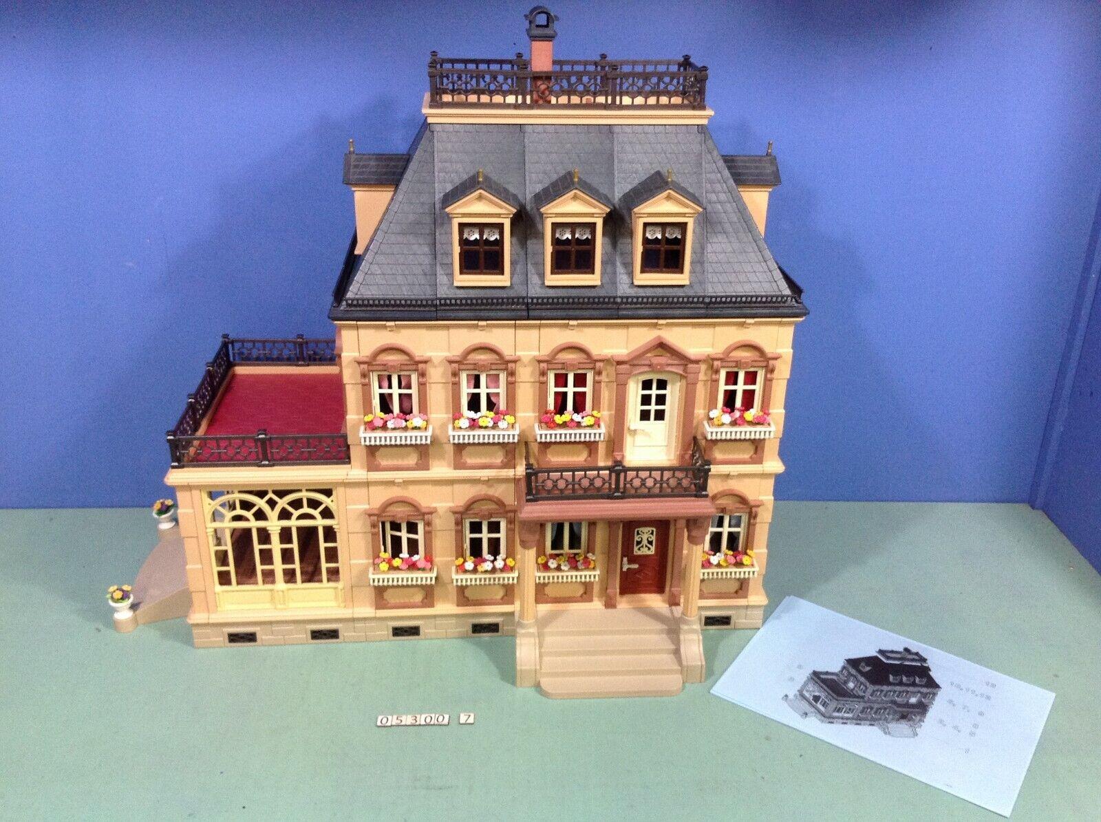 (O5300.7) playmobil Grande maison 1900  complète ref 5300 + meubles