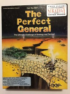 The-Perfect-General-PC-Game-Commodore-Amiga-w-maps-and-inserts
