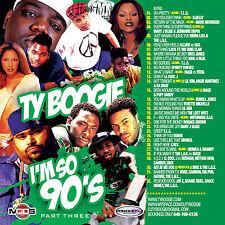 DJ TY BOOGIE I'M SO 90s Pt. 3 (MIX CD) R&B, HIP-HOP and BLENDS