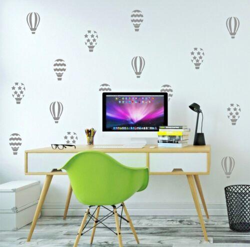 Globo Aerostático Adhesivos de pared vinilo decoración hogar Juego 30 Habitación