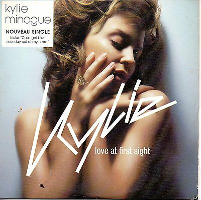 CD single Kylie MINOGUELove at first sight 2-track CARD SLEEVE FRANCE RARE