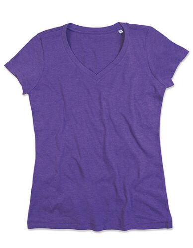 Stedman Damen T-Shirt LISA V-NECK FOR WOMEN V-Ausschnitt S M L XL Neu ST9910
