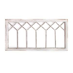 Horizontal Window Panel Hanging Interior Wall Art Home