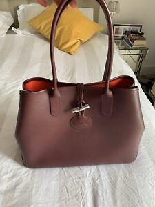 Details about Longchamp Roseau Tote Large bag - Excellent condition (NEW)