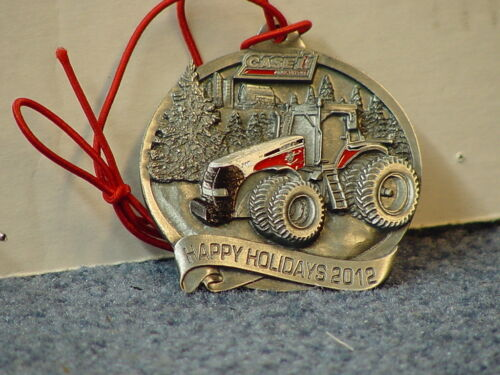 International Harvester 2012 Painted Pewter Christmas Ornament