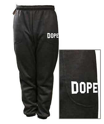 NEW MEN'S WOMEN'S PRINTED DOPE FUNNY FLEECE JOGGER DRAWSTRING SWEAT PANTS S~5XL