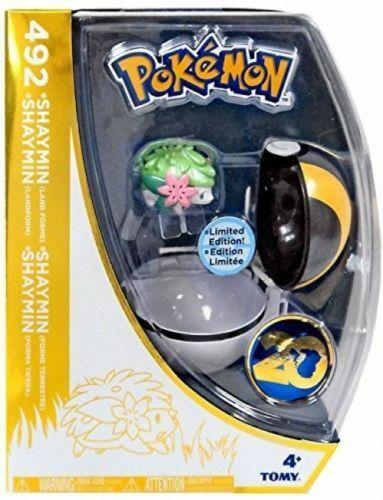 Pokeball~Toys R Us NEW Pokemon 20th Anniversary Ltd Edition 492 SHAYMIN Figure