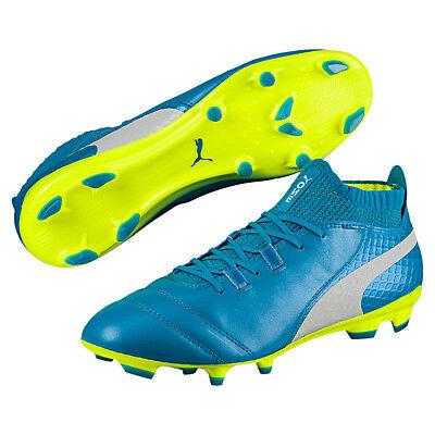 Puma ONE 17.1 FG Herren Fußballschuh Leder blau 104062 04 | eBay