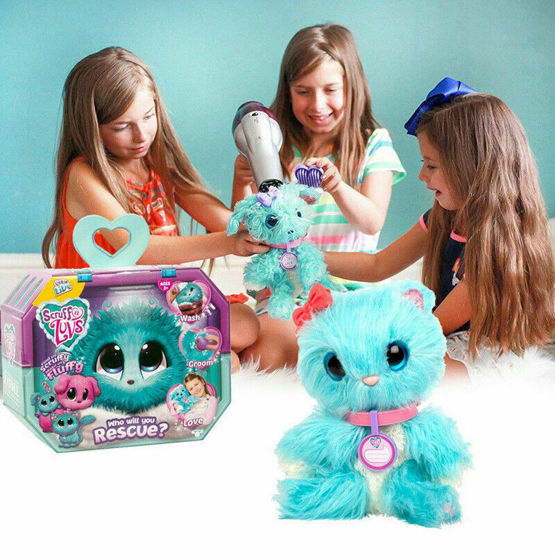 UK Hot Scruff-A-Luvs Rescue Plush Little Live Doll Toys Pets Kids Birthday Gifts 3