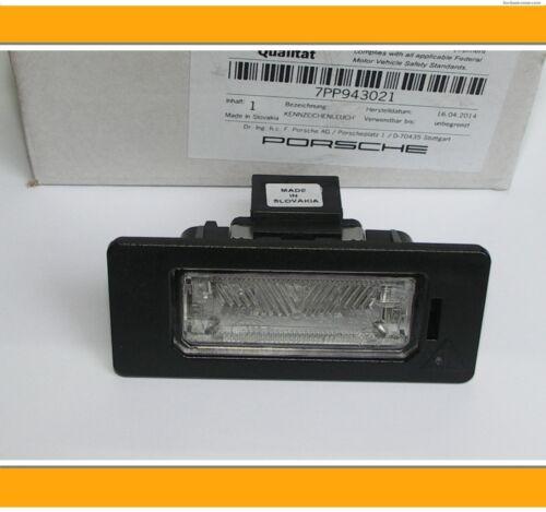 Nouveau porsche panamera Indicateur Lampe Luminaire plaque plaque Light