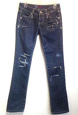 miss me distressed skinny jeans 26