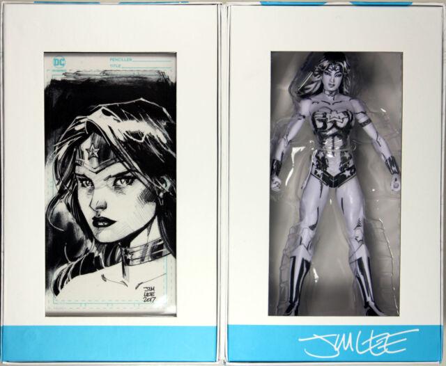 DC COMICS Blueline Édition Wonder Woman Exclusive Jim Lee Action Figure