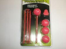 Fox Rage Predator Pike Fishing Range Kebab /& Popper Pin Kits