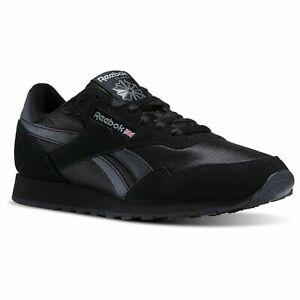Men-039-s-Reebok-Royal-Nylon-Running-Shoes-Black-Carbon-BD1554-100-Original-New