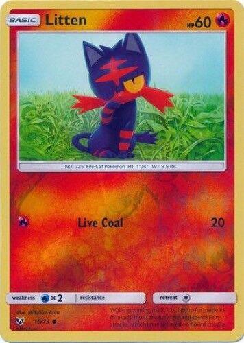 Reverse Foil - Common Shining Legends 15//73 Litten