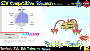 6IV-COMPETITIVE-FERROTHORN-SHINY-ULTRA-or-NOT-ITEM-SWORD-amp-SHIELD