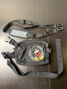 Vintage Disneyland Resort Mickey Mouse 1955 Fanny Pack and Matching Wallet