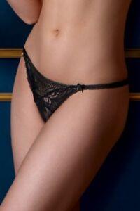 LISE CHARMEL modèle TRANSPARENCE DESIR string sexy coloris noir  40fc813846f