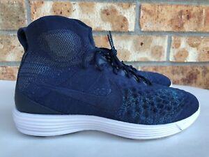 85ae041bc921 Men s Nike Lunar Magista II Flyknit FC Training Shoes Size 8-10.5 ...