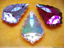 2015 New hot sale Wholesale 20Pcs 50mm water-drop Crystal Glass Beads Pendants