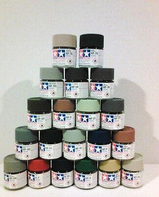 Tamiya acrylic paint. BUNDLE!!  20 × 10ml Minis.