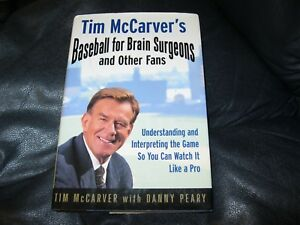 Baseball-for-Brain-Surgeons-and-Other-Fans-Book-Autographed-Tim-McCarver-JSA-Auc