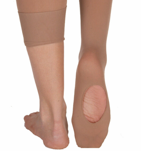 Body Wrappers C31 Girl/'s Medium//Large 8-14 Ballet Pink Convertible Tights