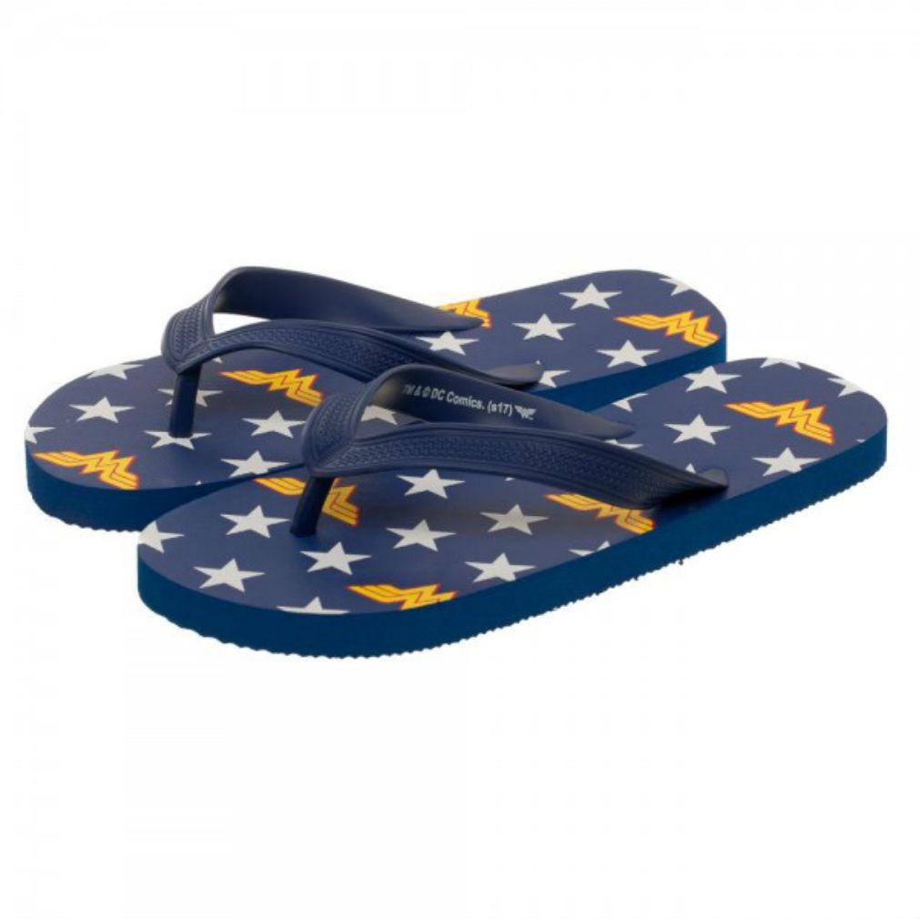 Official DC Comics Flops Wonder Woman Unisex Flip Flops Comics Sandel Shoe (XS, S or M) ea60ee