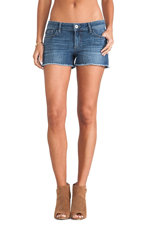 DL1961 LOLA Cut Off Distressed Denim Shorts in MARGATE 24  98