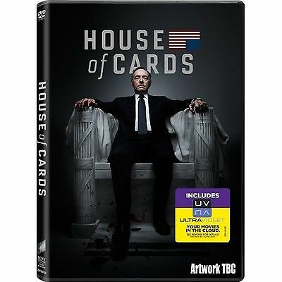 1 of 1 - House of Cards - Series 1 - Complete (DVD, 2013, 4-Disc Set, Box Set)