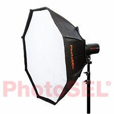 PhotoSEL SBSC120 120cm Octagonal Softbox Bowens S Type Speed Ring Studio Flash
