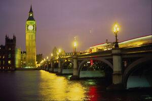 557052-Westminster-Bridge-And-Big-Ben-London-England-A4-Photo-Print