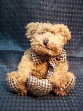 "So Cute! Boyds Bears Plush 5"" Jointed Billy Bob Bear Ornament"