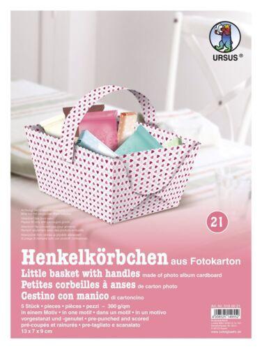 Ursus Geschenkbox ** Henkelkörbchen Geschenkverpackung Geburtstag 5180021