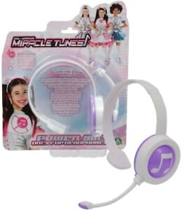 Miracle Tunes Box Replica Headset Microphone Colour Violet Original