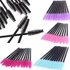 100 Pcs Disposable Eyelash Brush Cosmetic Makeup Tool Mascara Wands Applicator