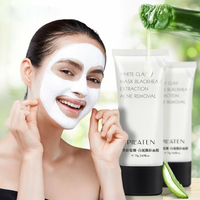 PILATEN Blackhead Removal White Clay Mask Acne Treatment Pore Cleaning Mask Z5L7