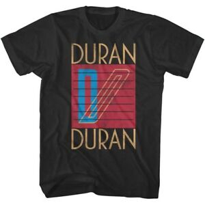 OFFICIAL-Duran-Duran-Logo-Men-039-s-T-Shirt-Pop-Music-Band-Rock
