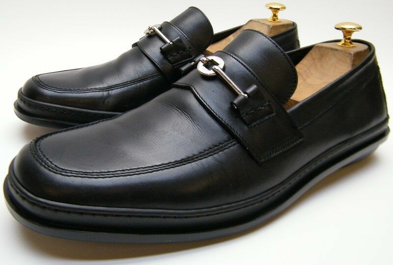 MENS COLE HAAN CITY C00445 schwarz LEATHER BIT LOAFERS DRESS schuhe SZ 12 M 12M