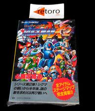 GUIA ROCKMAN X2 MEGAMAN Super Famicom SNES STRATEGY GUIDE BOOK JAP