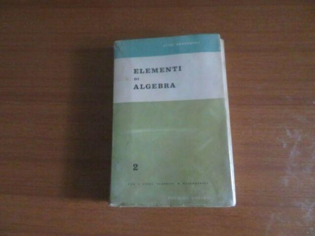 Elementi di Algebra 2 Torino