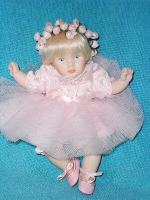 Künstlerpuppe Puppe Doll  PINK BALLERINA  Pauline Bjonness Jacobsen
