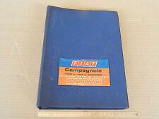 CATALOGO PARTI DI RICAMBIO ORIGINALE 1977 FIAT CAMPAGNOLA 1107A