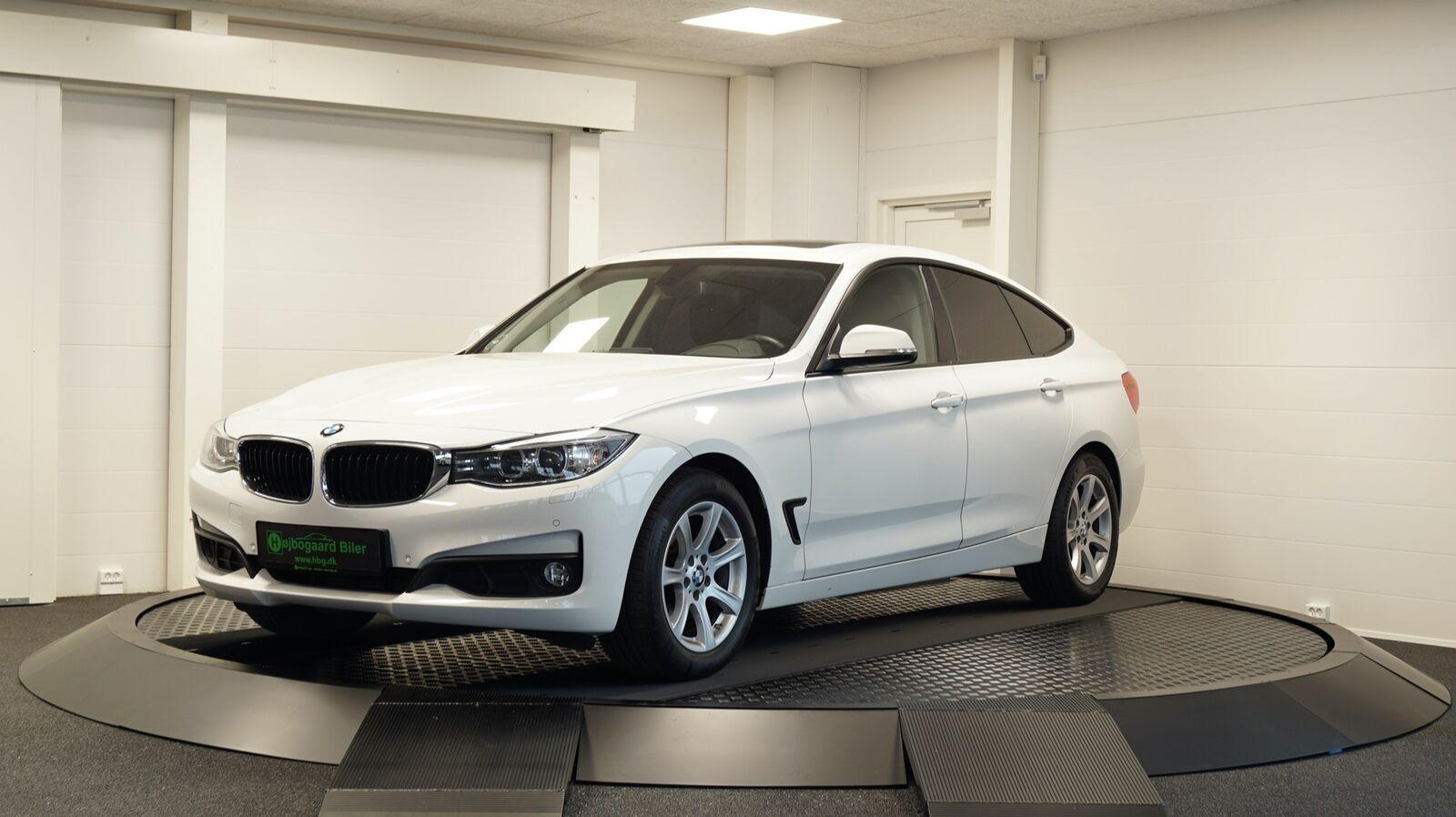 BMW 320d 2,0 Gran Turismo aut. 5d - 249.800 kr.