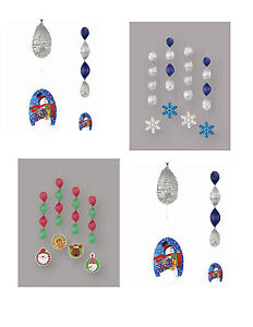 4-Christmas-Foil-Hanging-Swirl-Decorations-Christmas-Characters-or-Snowflakes