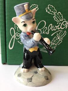 Beswick-Cats-Chorus-Band-RATCATCHER-BILK-Clarinet-Player-Figurine-CC4-Boxed