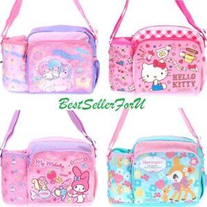 2766acca3 Image is loading Sanrio-Kid-Girl-Crossbody-Shoulder-Bag-Messenger-Pouch-